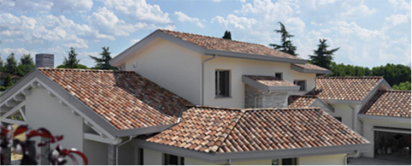 Find Pressure Resistance Residential Roman Clay Roof Tile
