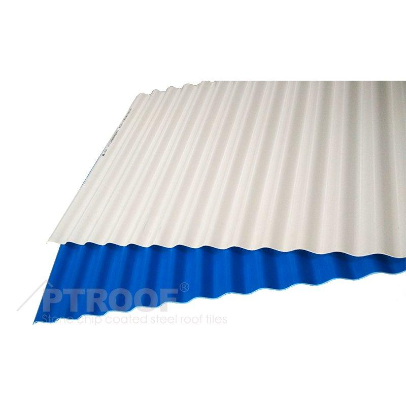 ASA-PVC Anti-Corrosion Compound Wave Breaking Roof Sheet for Architectural