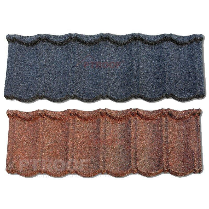 Bond Stone Coated Steel Roof Tile for Residential & Commercial