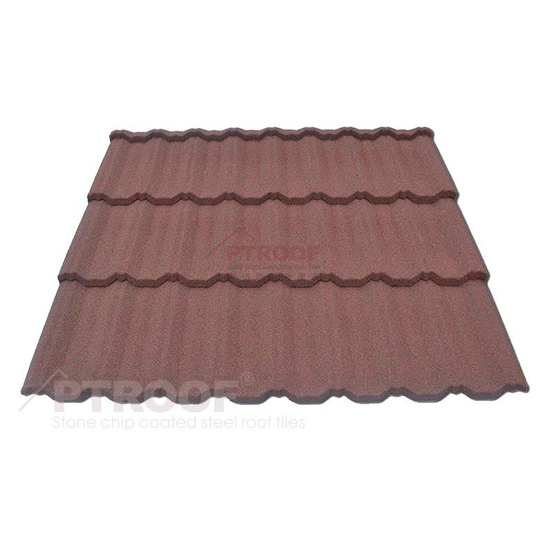 Classic Color Stone Coated Metal Roof Tile with Waterproof
