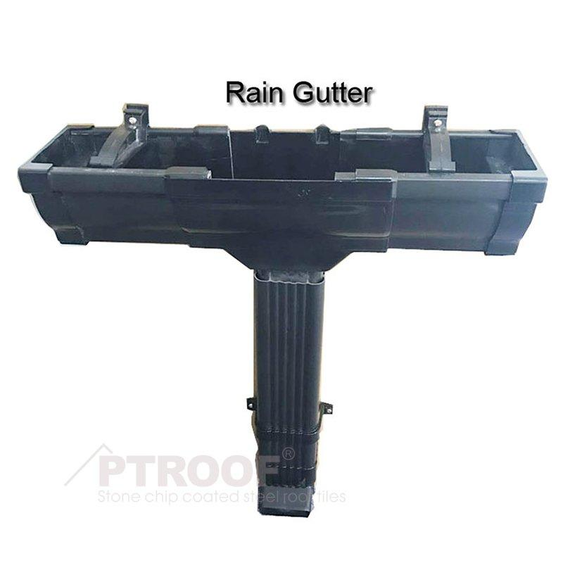 High Temperature Resistance 5.2 Inch PVC Rain Gutter & Fittings