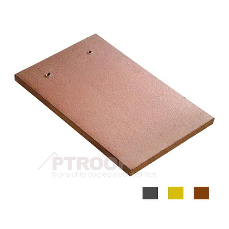 Resistance To Snow Cover Small Flat Ceramic Roof Tile For Architectural