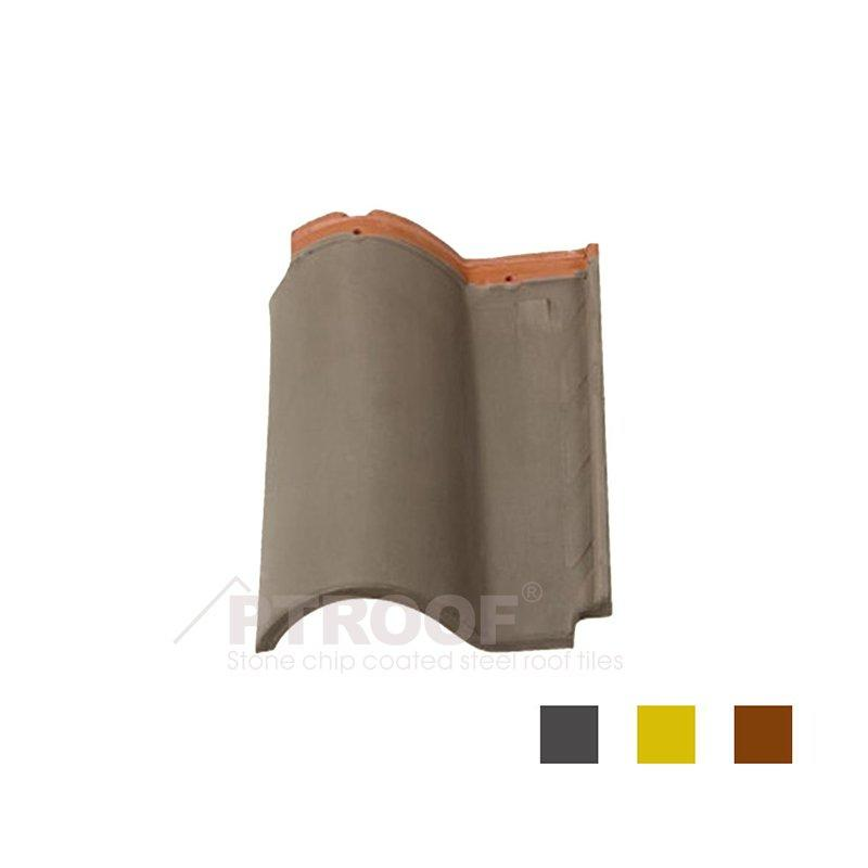 Pressure Resistance Residential Roman Clay Roof Tile PTR01