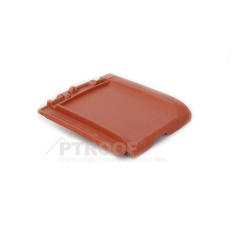 Low Water Absorption MATT&Glazed Flat Clay Roof Tile For The Villa
