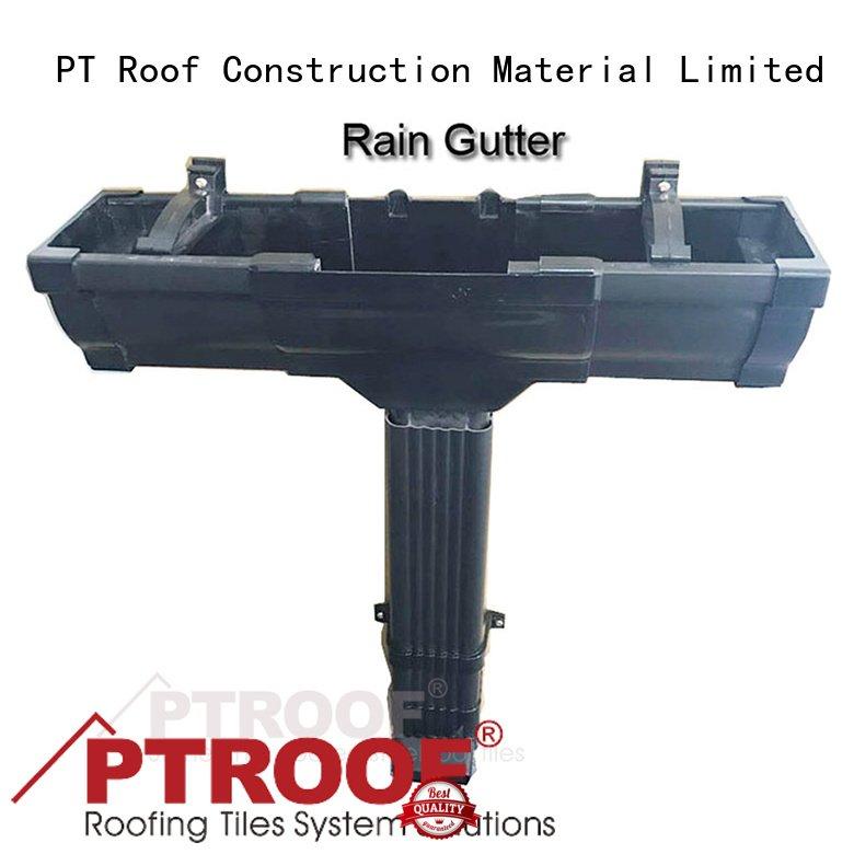 High Temperature Resistance 5 2 Inch Pvc Rain Gutter