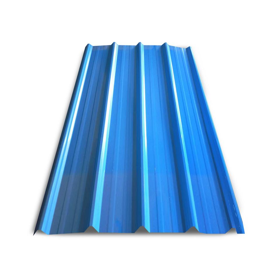 Color Corrugated Zinc Prepainted Metal Roofing Sheets / Aluminized Steel Sheet