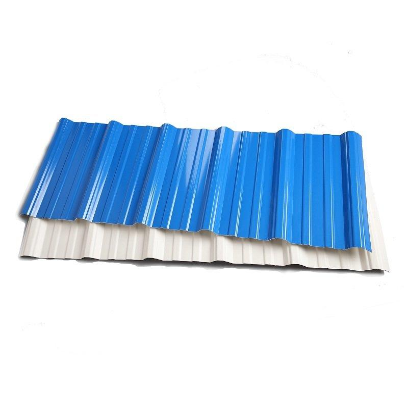 Colorful Anti-Corrosive Corrugated UPVC/Apvc Roofing Sheet with 15 Years Life Guarantee